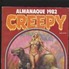 Cómics: CREEPY - ALMANAQUE 1982 -TOUTAIN EDITOR -. Lote 217172548