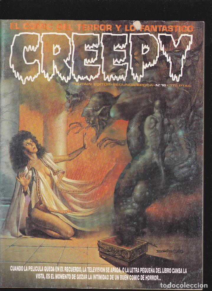 CREEPY - Nº 16 - SEGUNDA EPOCA -TOUTAIN EDITOR - (Tebeos y Comics - Toutain - Creepy)