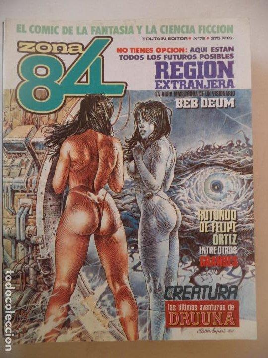 ZONA 84 Nº 72 BUEN ESTADO (Tebeos y Comics - Toutain - Zona 84)
