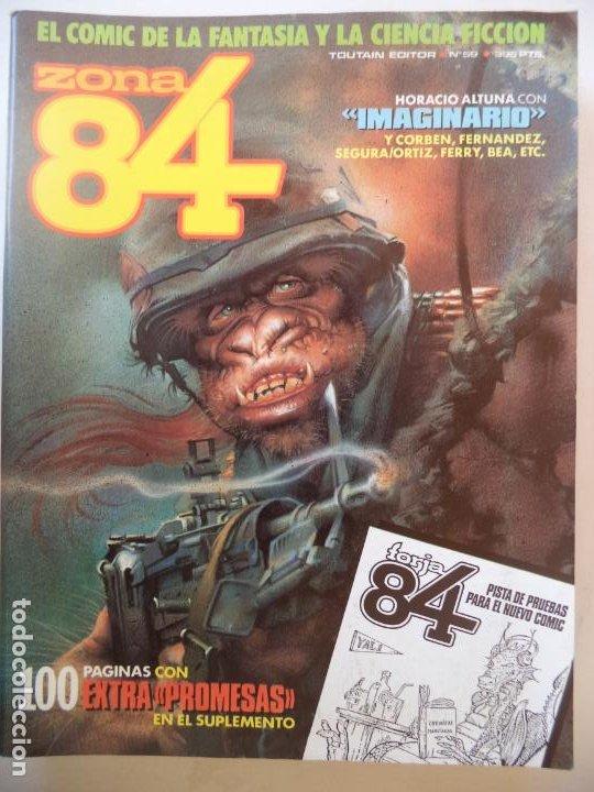 ZONA 84 Nº 59 BUEN ESTADO (Tebeos y Comics - Toutain - Zona 84)