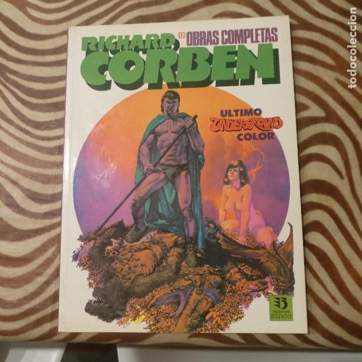 ÚLTIMO UNDERGROUND COLOR CORBEN (Tebeos y Comics - Toutain - Obras Completas)