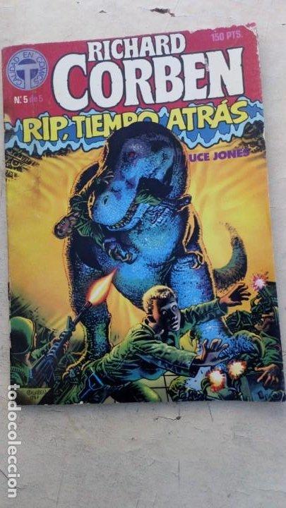 RIP TIEMPO ATRAS Nº 5 DE 5- RICHARD CORBEN / BRUCE JONES - TOUTAIN 1987 (Tebeos y Comics - Toutain - Otros)