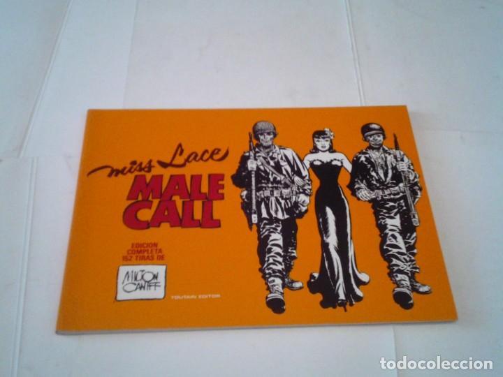 MISS LACE - MALE CALL - EDICION COMPLETA DE 152 TIRAS - MILTON CANFF - TOUTAIN - IMPECABLE - GORBAUD (Tebeos y Comics - Toutain - Álbumes)