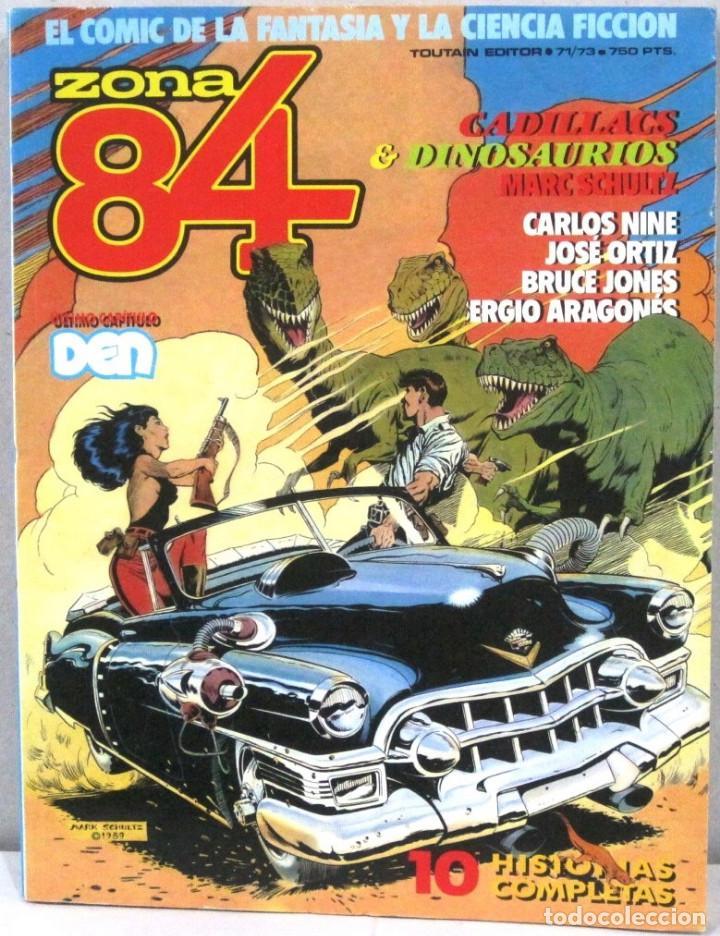 ZONA 84 - 10 HISTORIAS COMPLETAS - 71/73 - COMIC (Tebeos y Comics - Toutain - Zona 84)