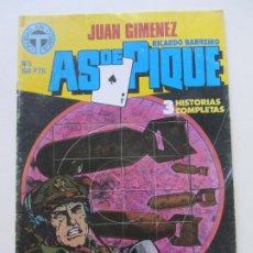 Comics : AS DE PIQUE. Nº 5. JUAN GIMENEZ. CALIDAD EN COMICS E10 HJJ. Lote 217476861