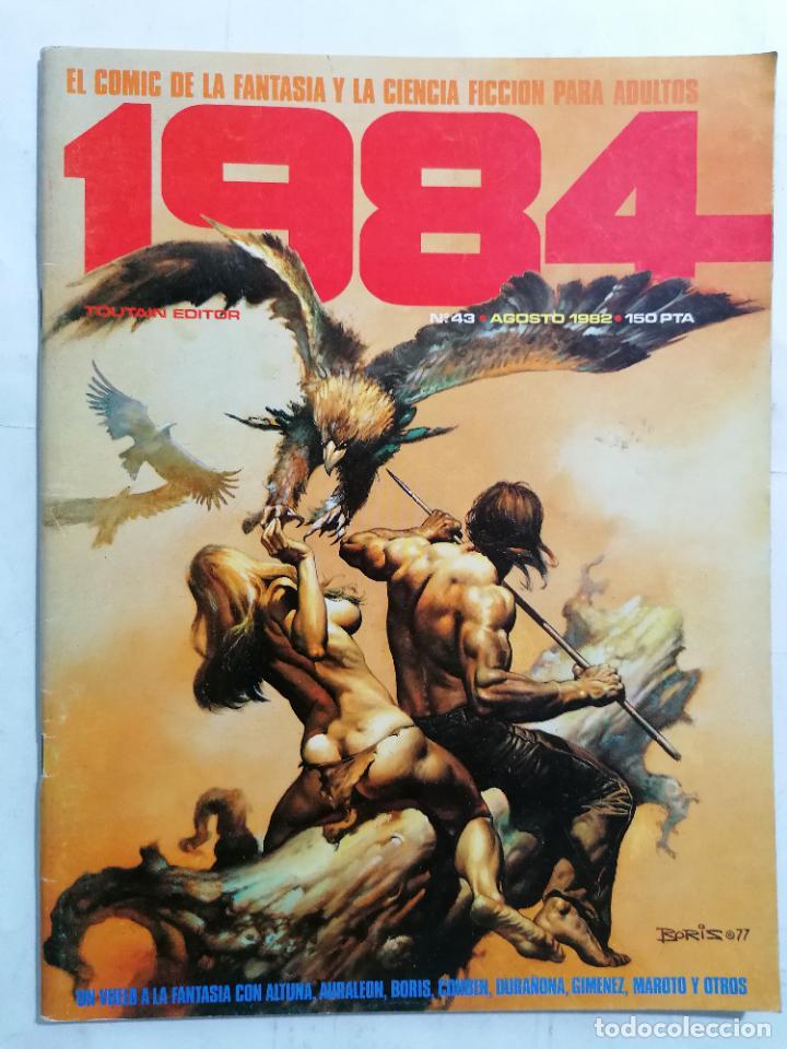 1984 Nº 43, EL COMIC DE LA FANTASIA Y LA CIENCIA FICCION (Tebeos y Comics - Toutain - 1984)