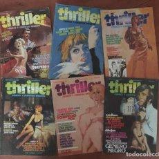 Cómics: COLECCIÓN COMPLETA THRILLER DE TOUTAIN EDICIONES. NÚMEROS 1-6 (1984). Lote 217833648