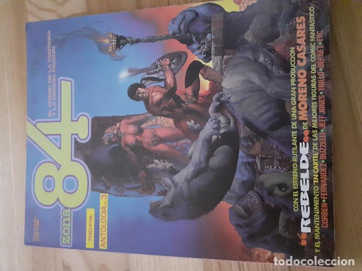 RETAPADO ANTOLOGIA 3 ZONA 84 EDITORIAL TOUTAIN CONTIENE LOS NUMEROS 8 9 10 (Tebeos y Comics - Toutain - Zona 84)