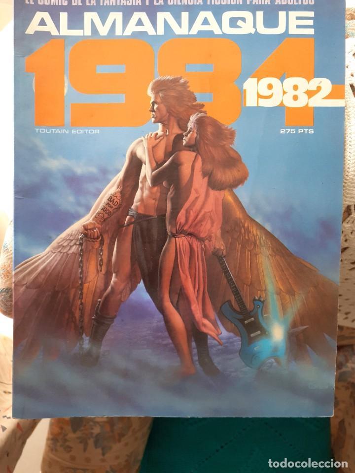Cómics: 1984 ALMANAQUE 1982 -EL MEJOR CÓMIC DE FANTASÍA-CORBEN-FERNANDO-JUAN GIMÉNEZ-1981-BUENO-LEA-3740 - Foto 2 - 218090210