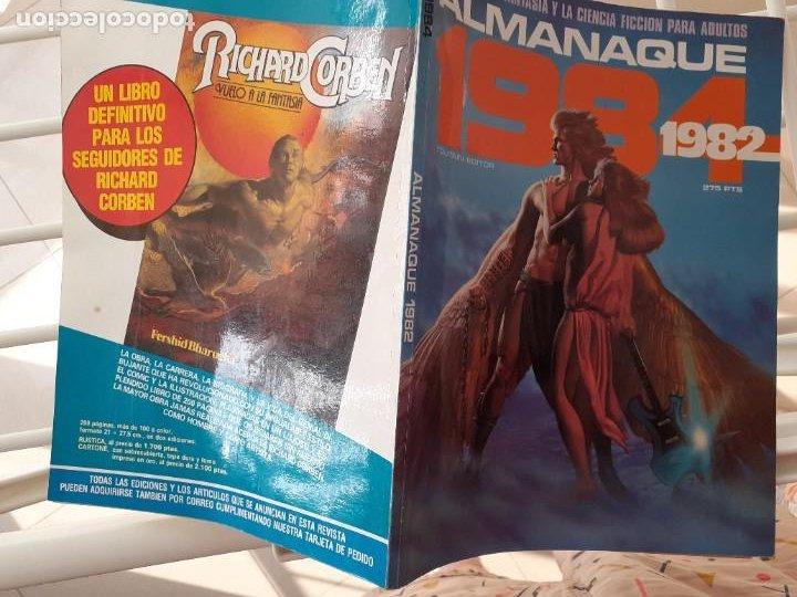 Cómics: 1984 ALMANAQUE 1982 -EL MEJOR CÓMIC DE FANTASÍA-CORBEN-FERNANDO-JUAN GIMÉNEZ-1981-BUENO-LEA-3740 - Foto 3 - 218090210