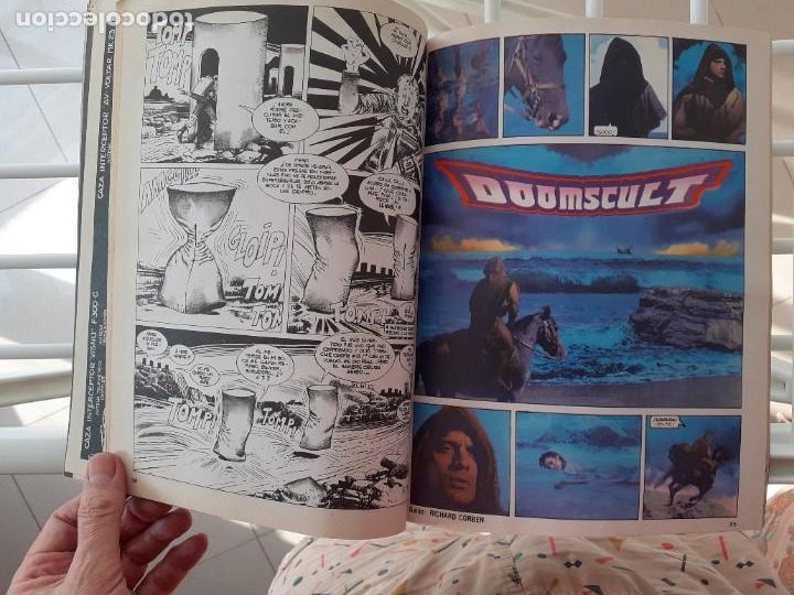 Cómics: 1984 ALMANAQUE 1982 -EL MEJOR CÓMIC DE FANTASÍA-CORBEN-FERNANDO-JUAN GIMÉNEZ-1981-BUENO-LEA-3740 - Foto 5 - 218090210