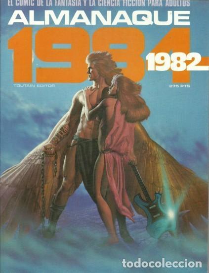 1984 ALMANAQUE 1982 -EL MEJOR CÓMIC DE FANTASÍA-CORBEN-FERNANDO-JUAN GIMÉNEZ-1981-BUENO-LEA-3740 (Tebeos y Comics - Toutain - 1984)