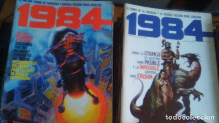 Cómics: TOUTAIN Revista 1984. COLECCION COMPLETA +2 especiales (excepto 4 números) - Foto 2 - 218105881