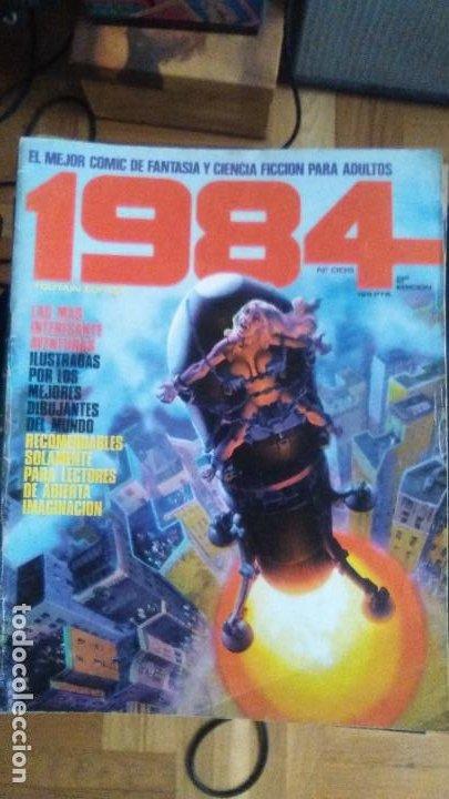 Cómics: TOUTAIN Revista 1984. COLECCION COMPLETA +2 especiales (excepto 4 números) - Foto 3 - 218105881