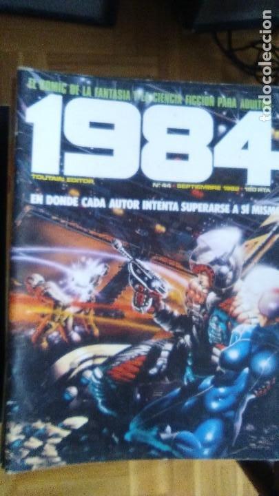 Cómics: TOUTAIN Revista 1984. COLECCION COMPLETA +2 especiales (excepto 4 números) - Foto 6 - 218105881