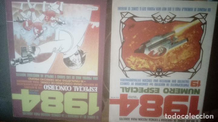 Cómics: TOUTAIN Revista 1984. COLECCION COMPLETA +2 especiales (excepto 4 números) - Foto 9 - 218105881