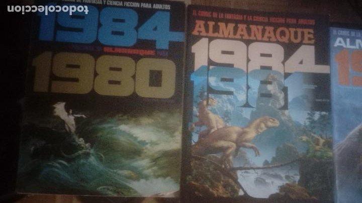 TOUTAIN. 5 ALMANAQUES. REVISTA 1984 (Tebeos y Comics - Toutain - 1984)