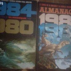 Comics : TOUTAIN. 5 ALMANAQUES. REVISTA 1984. Lote 218107082
