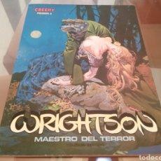 Cómics: BERNI WRIGHTSON CREEPY PRESENTA MAESTRO DEL TERROR TOUTAIN EDITOR 1981. Lote 218347486