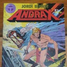 Comics: 42137 - ANDRAX COLECCION DE 12 COMICS COMPLETA - EDITORIAL TOUTAIN - AUTOR JORDI BENNET. Lote 218350662