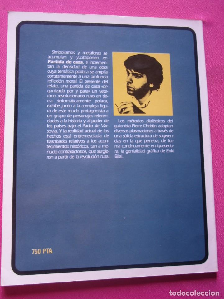 Cómics: PARTIDA DE CAZA ENKI VIDAL ALBUM TOUTAIN - Foto 3 - 218529591