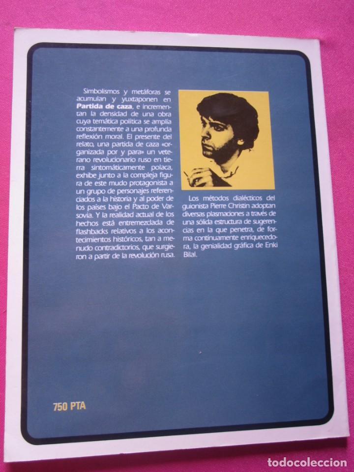 Cómics: PARTIDA DE CAZA ENKI VIDAL ALBUM TOUTAIN - Foto 4 - 218529591
