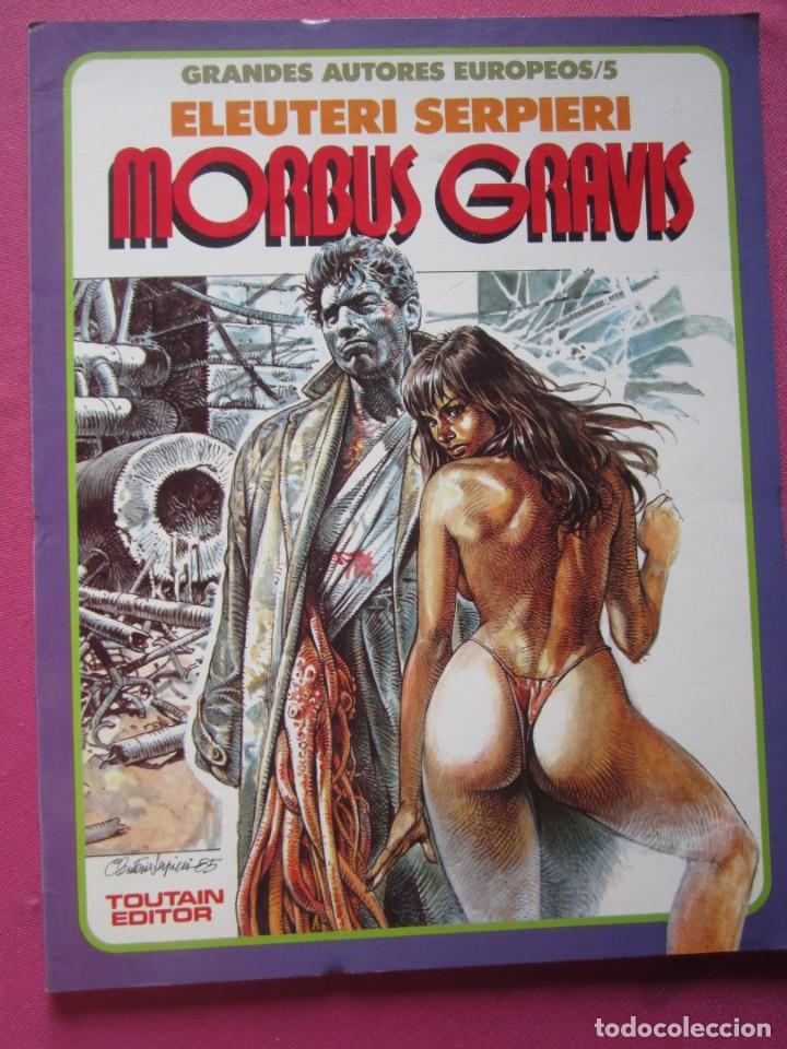 MORBUS GRAVIS ELEUTERI SERPIERE TOUTAIN (Tebeos y Comics - Toutain - Álbumes)