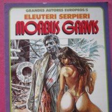 Comics : MORBUS GRAVIS ELEUTERI SERPIERE TOUTAIN. Lote 218530392