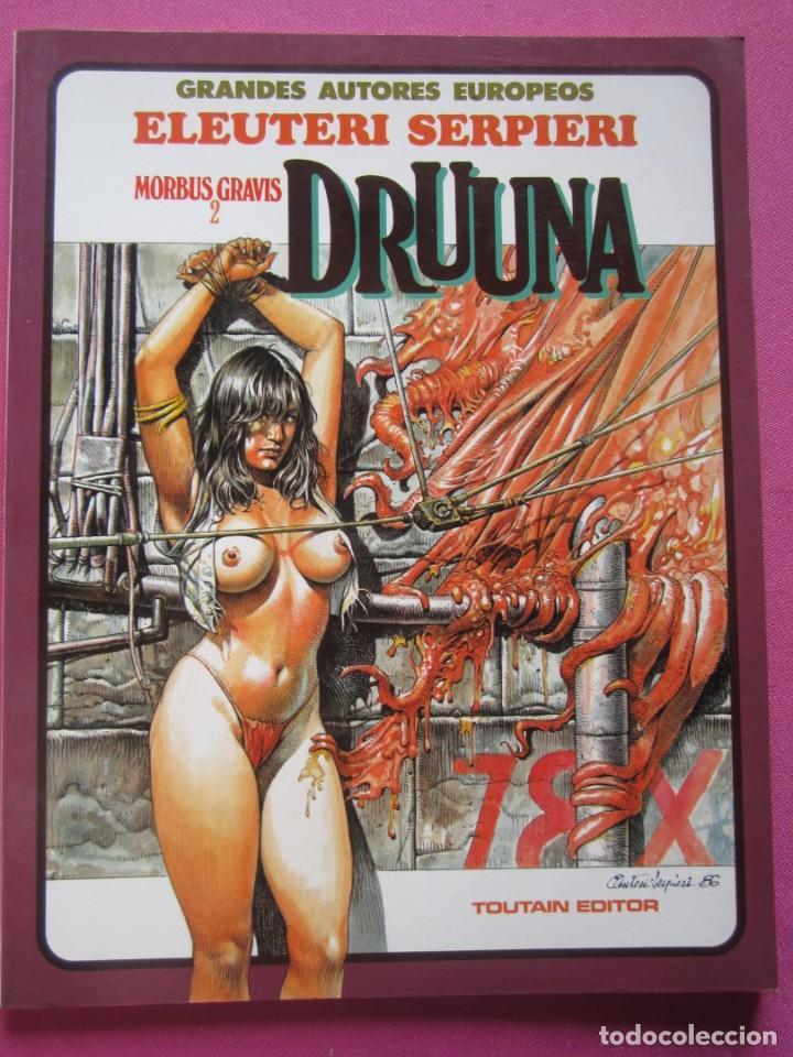DRUUNA MORBUS GRAVIS ELEUTERI SERPIERE TOUTAIN (Tebeos y Comics - Toutain - Álbumes)