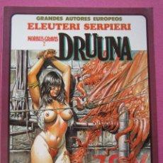 Cómics: DRUUNA MORBUS GRAVIS ELEUTERI SERPIERE TOUTAIN. Lote 218530717