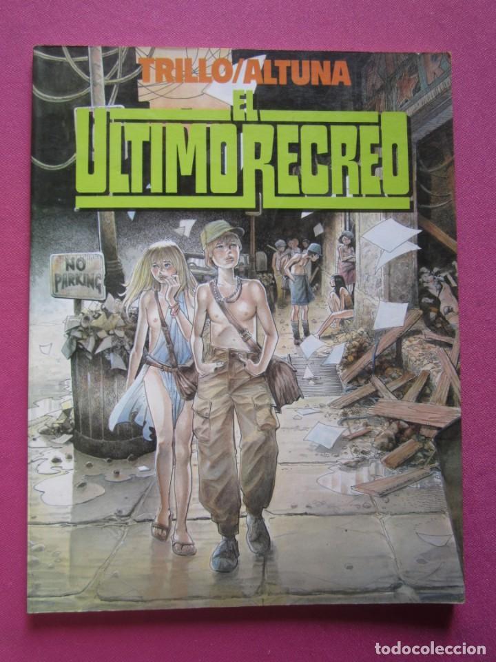 EL ULTIMO RECREO TRILLO ALTUNA TOUTAIN (Tebeos y Comics - Toutain - Álbumes)