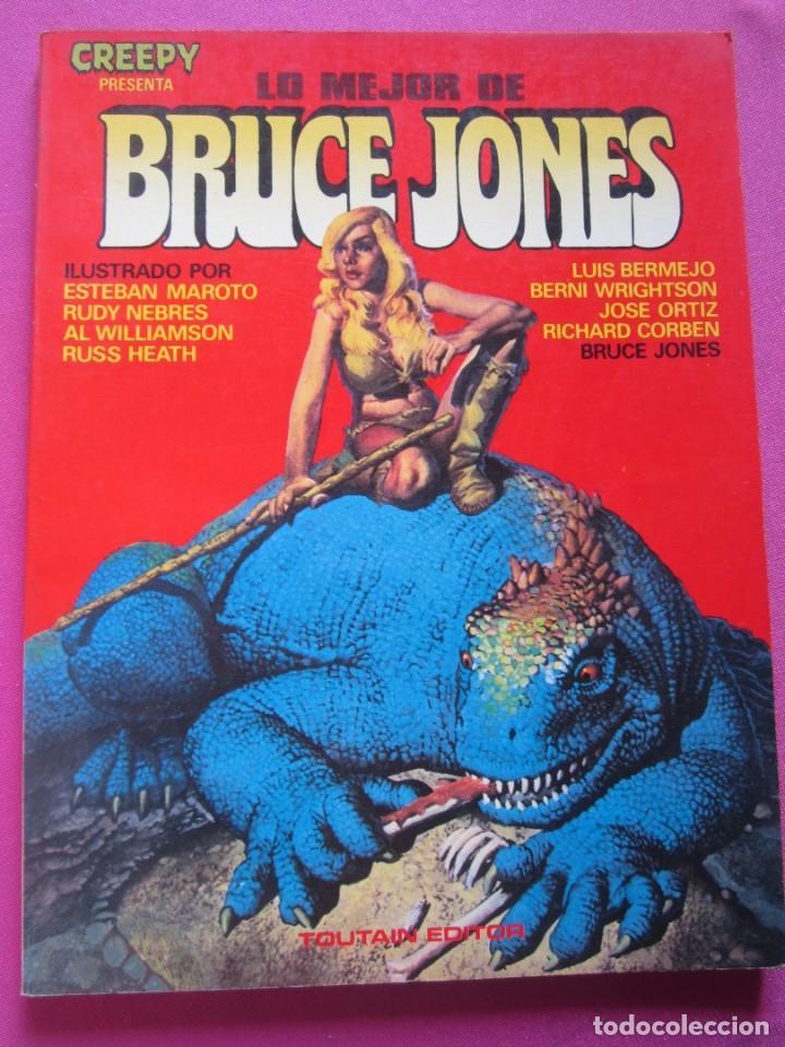 LO MEJOR DE BRUCE JONES TOUTAIN (Tebeos y Comics - Toutain - Álbumes)