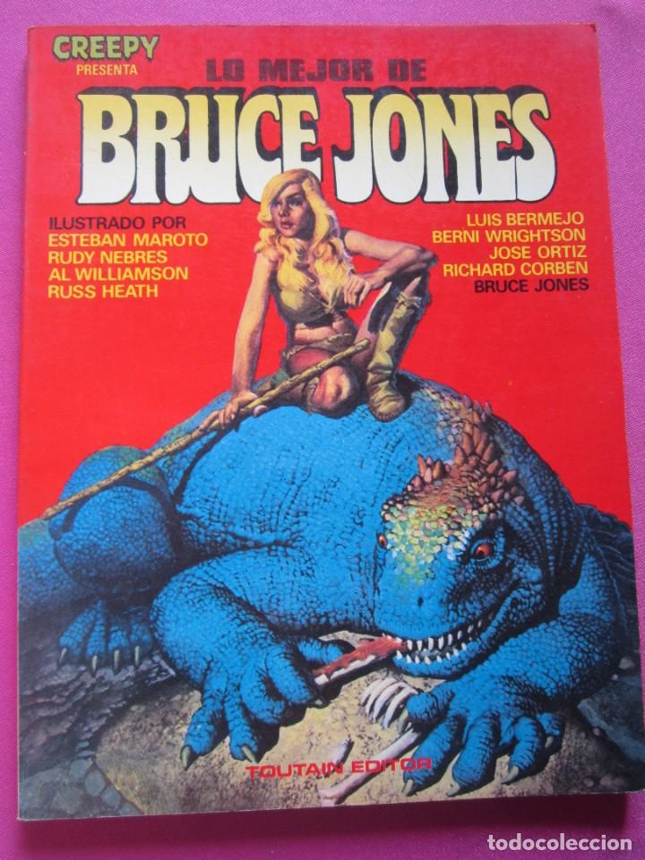 Cómics: LO MEJOR DE BRUCE JONES TOUTAIN - Foto 3 - 218533262