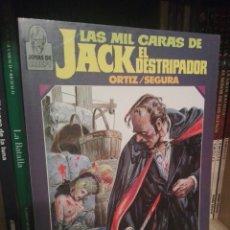Fumetti: LAS MIL CARAS DE JACK EL DESTRIPADOR TOMO TOUTAIN. Lote 218631126