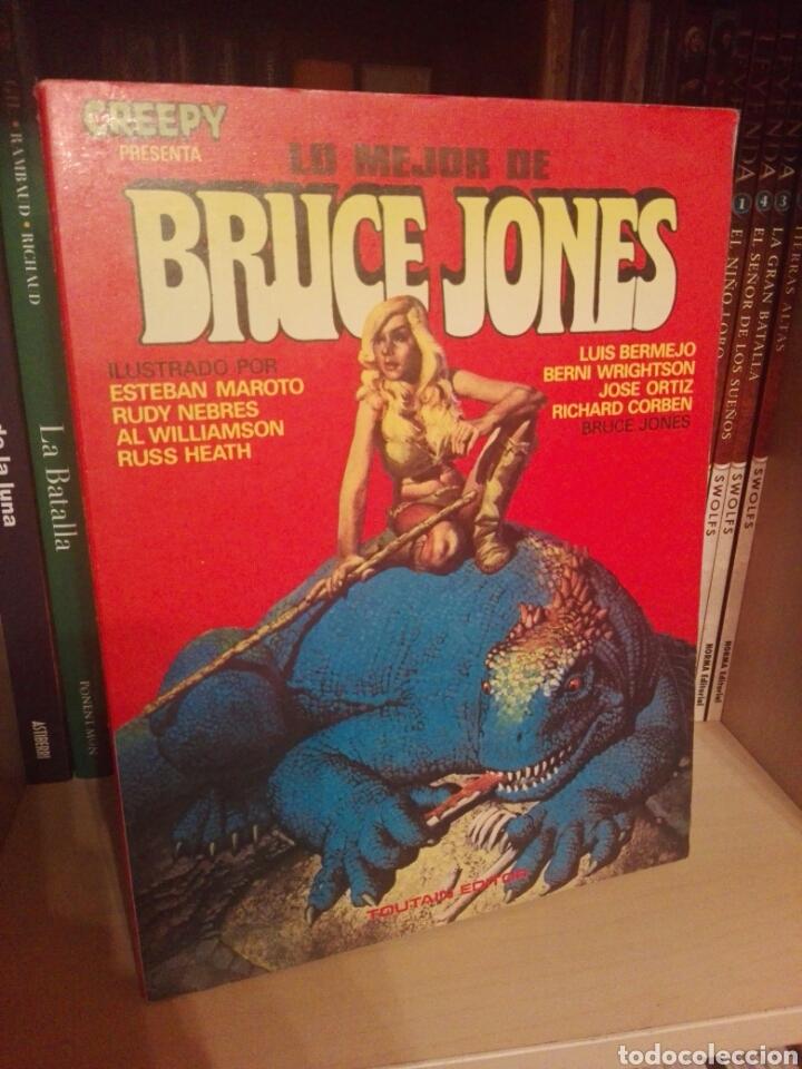 LO MEJOR DE BRUCE JONES TOMO TOUTAIN (Tebeos y Comics - Toutain - Creepy)