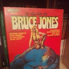 Cómics: LO MEJOR DE BRUCE JONES TOMO TOUTAIN. Lote 218632577