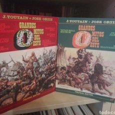 Comics : GRANDES MITOS DEL OESTE COMPLETA TOUTAIN. Lote 218632837