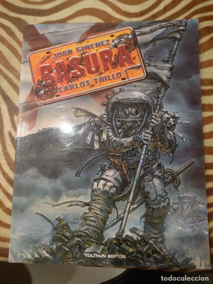 BASURA GIMÉNEZ (Tebeos y Comics - Toutain - Álbumes)