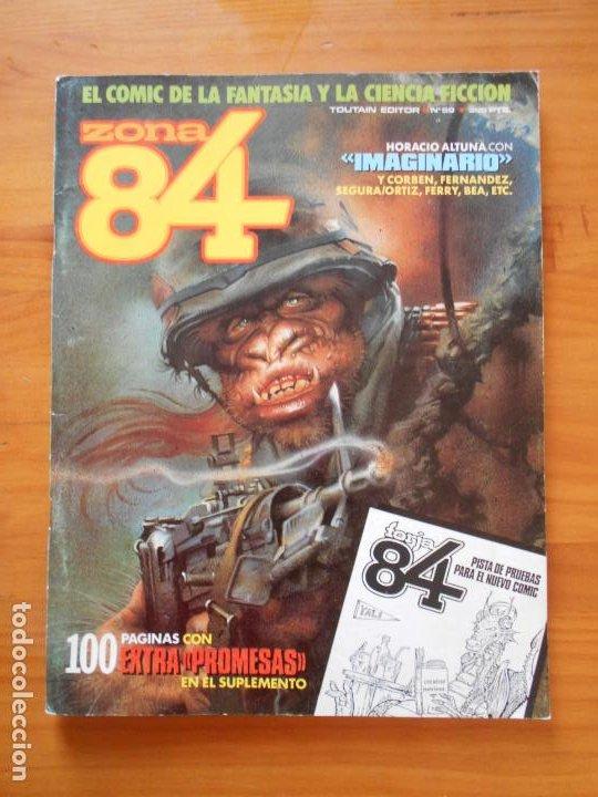 ZONA 84 Nº 59 - TOUTAIN (S) (Tebeos y Comics - Toutain - Zona 84)