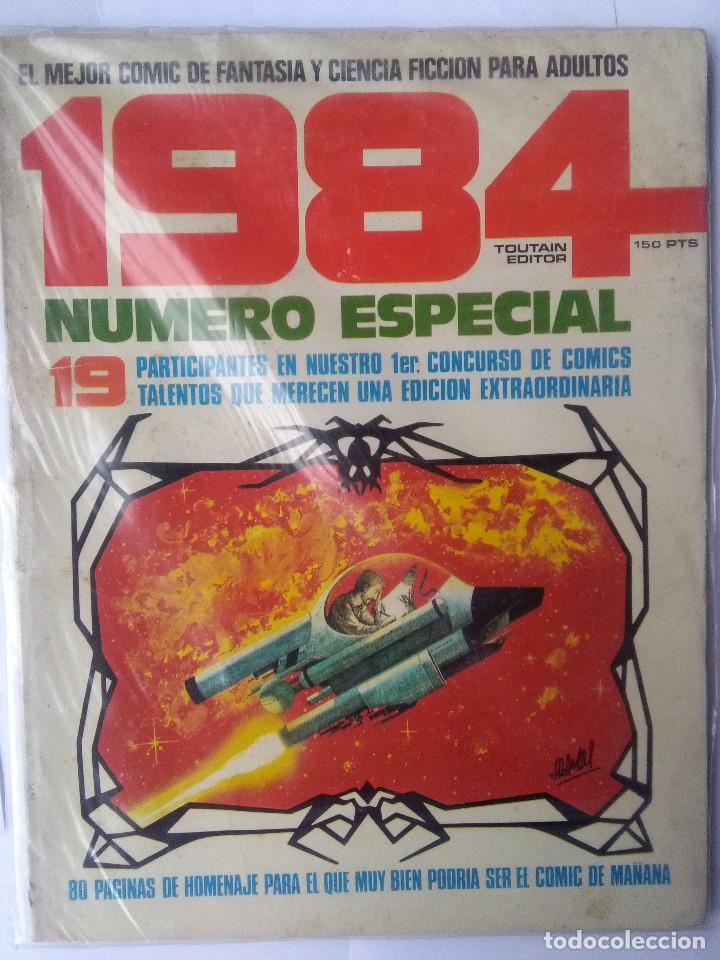 1984 NUMERO ESPECIAL (Tebeos y Comics - Toutain - 1984)