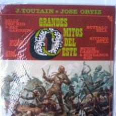 Cómics: J.TOUTAIN-JOSE ORTIZ-GRANDES MITOS DEL OESTE. Lote 218731862