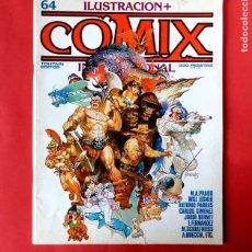 Cómics: ILUSTRACIÓN + COMIX INTERNACIONAL, Nº 64 - TOUTAIN EDITOR, S. A.- 1986 - ORIGINAL. Lote 218842707