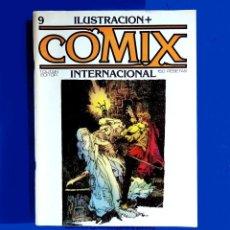 Cómics: ILUSTRACIÓN + COMIX INTERNACIONAL, Nº 9 - TOUTAIN EDITOR, S. A.- 1981 - ORIGINAL. Lote 218880036