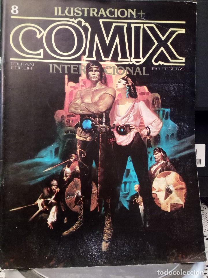 ILUSTRACIÓN + COMIX INTERNACIONAL NÚM 8 - TOUTAIN (Tebeos y Comics - Toutain - Comix Internacional)