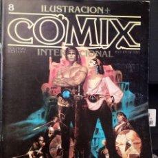 Comics: ILUSTRACIÓN + COMIX INTERNACIONAL NÚM 8 - TOUTAIN. Lote 218894506