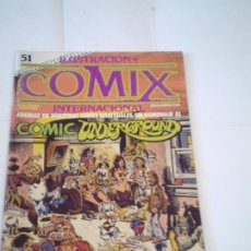 Cómics: ILUSTRACION COMIX INTERNACIONAL - NUMERO 51 - BUEN ESTADO - TOUTAIN EDITOR - CJ 120 - GORBAUD. Lote 218962702