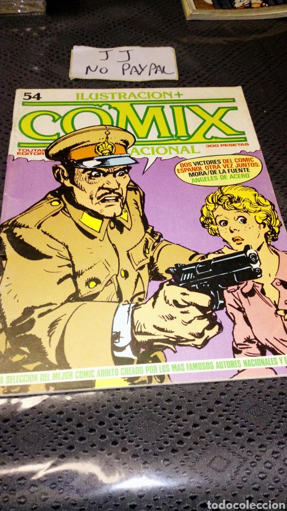 TOUTAIN EDITOR COMIX 54 INTERNACIONAL (Tebeos y Comics - Toutain - Comix Internacional)