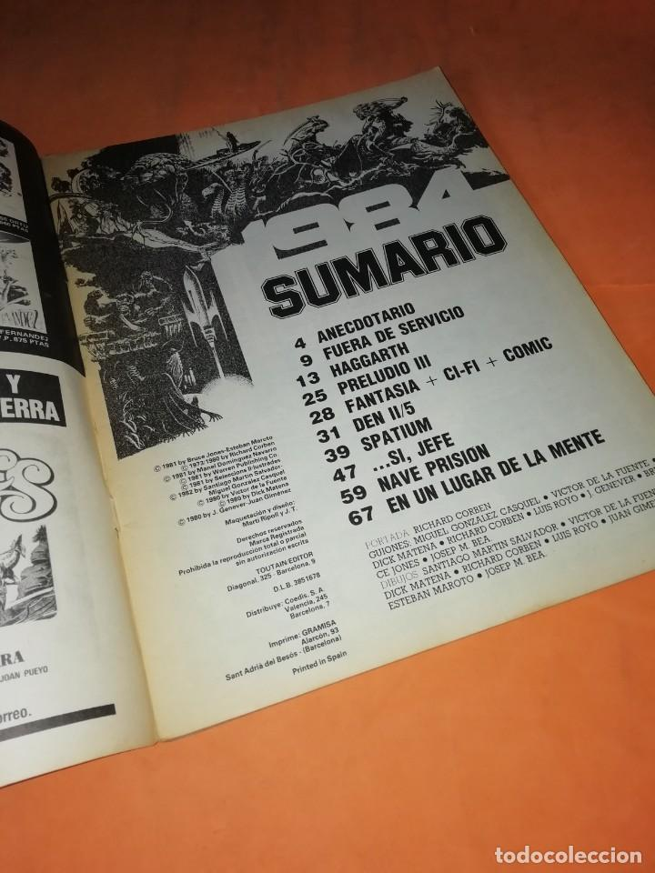 Cómics: 1984. nº 39 . TOUTAIN EDITOR. ABRIL 1982 - Foto 2 - 219054496