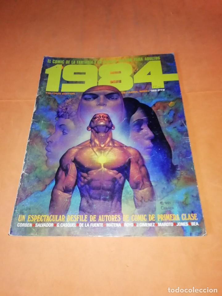1984. Nº 39 . TOUTAIN EDITOR. ABRIL 1982 (Tebeos y Comics - Toutain - 1984)