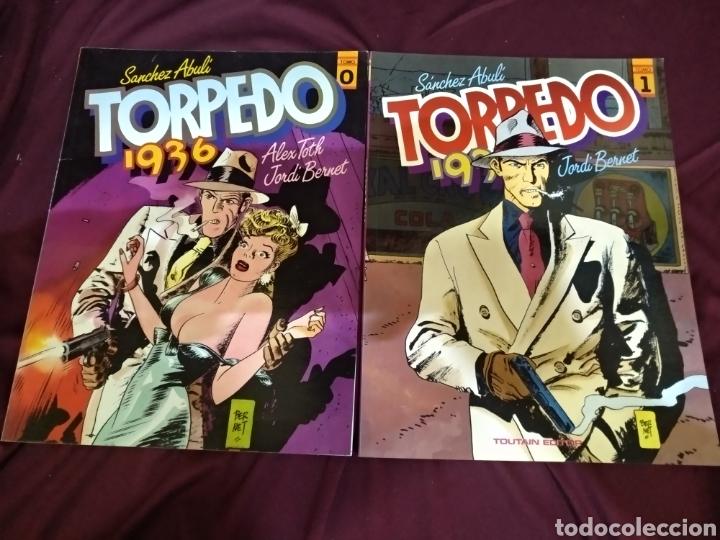 Cómics: Colección completa, TORPEDO 1936, 8 TOMOS, TOUTAIN - Foto 2 - 288434143